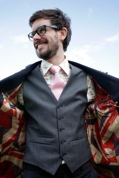 Paul Smith suit for this Groom...
