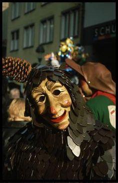 mask fasching carnival freiburg