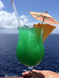 The Best Carnival Cruise Lines Cocktails - Mixology Specialty Drink: During one of the first sea days Carnival will have a special mixology contest, where a few cruisers will have the chance to create a new drink. The winner of this contest will then have their drink served during the rest of the cruise. Our Mixology drink was called the Peggy TKO and it was delicious.