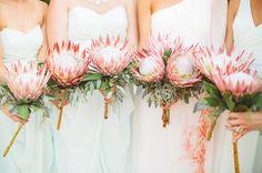 Wedding Ideas Bouquet 22 Tropical King Protea Wedding Bouquets Ideas See More: Flor Protea, Protea Bouquet, Eucalyptus Bouquet, Protea Flower, Boquet, Protea Wedding, Floral Wedding, Bouquet Wedding, Wedding Bouquets