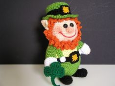 PUDGY LEPRECHAUN PDF Crochet Pattern by bvoe668 on Etsy