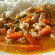 Thai Red Curry, Food And Drink, Snacks, Meals, Cooking, Ethnic Recipes, Origami, Diet, Kitchen