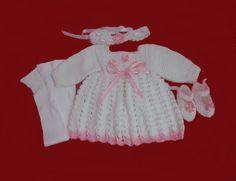fba96973a Pronta entrega!Conjunto em crochê feito com lã. Confeccionado com lã  especial para bebês. Quem comprou amou! Trabalho artesanal. Produto de  ótima qualidade!