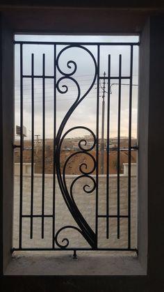 House Main Gates Design, Front Gate Design, Door Gate Design, Railing Design, Burglar Bars, Window Grill Design, Iron Decor, Pergola Designs, Home Pictures