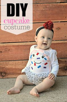 DIY Infant Cupcake Costume: An Easy Way For Baby To Dress Up #onestopshopforbaby AD
