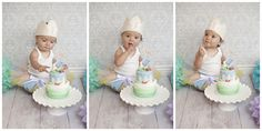 1 Year Cake Smash - Peter Rabbit Theme Boulder, Colorado Baby Photographer