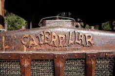 Historic Caterpillar logo!