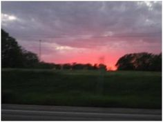 Debra Howard of Diana saw this gorgeous sky and shared it with us. So glad she did!