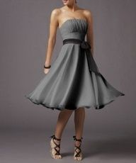 Taupe bridesmaid dresses are great for every formal event. Keep in mind, the majority of bridesmaids purchase their unique gowns today. Bridesmaid Dresses Under 50, Lavender Prom Dresses, Grey Bridesmaids, Homecoming Dresses, Different Dresses, Nice Dresses, Casual Dresses, Briadsmaid Dresses, Chiffon Dresses