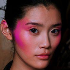 """versacegods: """"Ming Xi @ A.F. Vandervorst Fall 2012 Backstage """""""