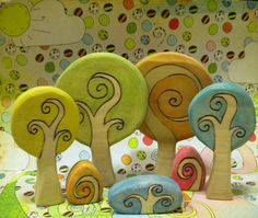 Waldorf Inspired Kids Wooden Fun Whimsical by YoureInspired