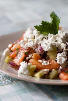 Bulgarian Shopska Salad->Sofia wait for me!