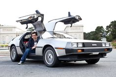 Ernest Cline has the most awesome car ever.