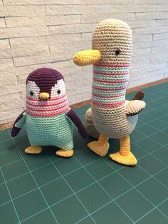 Las aves del mundo picapau hechos por mi ☺️ crochet amigurumis handmade