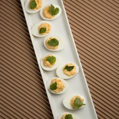 Fiery Chipotle Deviled Eggs