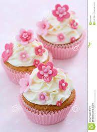 Resultado de imagen para flowers cupcakes