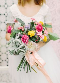 Bright + Textural Wedding Inspiration | Green Wedding Shoes Wedding Blog | Wedding Trends for Stylish + Creative Brides