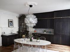 Квартира в Стокгольме площадью 94 м² – Красивые квартиры