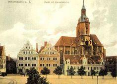 Markt mit Wenzelskirche, 1916