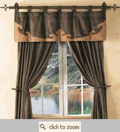 1000 Images About Livingroom On Pinterest Window Treatments Westerns And Western Curtains