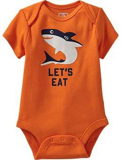 Humor-Graphic Bodysuits for Baby [12-18M]