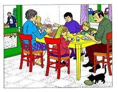 El profe y su clase de PT: Secuencias temporales a través de la expresión oral Teaching English, Learn English, France, Beach Pictures, Family Guy, Kids, Fictional Characters, Social Stories, Special Education
