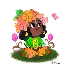 Bal Krishna, Cute Krishna, Krishna Art, Shree Krishna, Cute Cartoon Characters, Cartoon Art, Easy Paper Crafts, Arts And Crafts, Lsd Art
