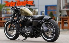 HD Sportster XL1200X Forty-Eight #HarleyDavidsonSporster