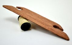 4.5 Inch Handcrafted Beveled Shuttle / Beater by thewienerdogranch