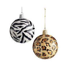 Animal Print Ornaments | LUUUX