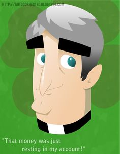 Father ted vector