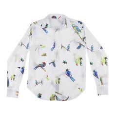 Birds - Chemises / Shirts, Chemises / Shirts - G.KERO e-shop