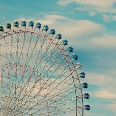 smilemalu    #みなとみらい #観覧車 #blue #sky