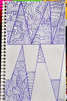 May Your Bobbin Always Be Full: Sketch Book......Zentangle Style Designs