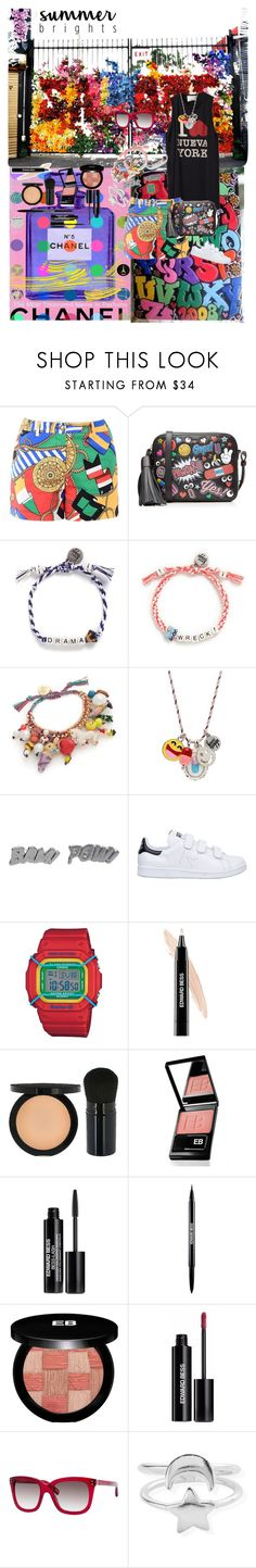 """Graffiti"" by atho-12345 on Polyvore featuring 3.1 Phillip Lim, Love Moschino, Anya Hindmarch, Venessa Arizaga, Edge Only, adidas, Casio, Edward Bess, Marc Jacobs and ChloBo"