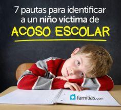 Siete pautas para identificar a un niño víctima de acoso escolar