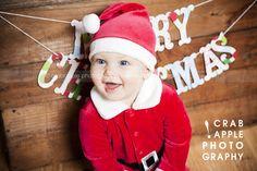 baby santa photos