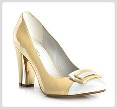 WITTCHEN Damen Pumps Damenschuhe, Lackleder, Leder, Gelb, Größe:37, 80-D-538-Y-37 - Damen pumps (*Partner-Link)