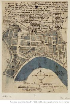 [Maison professe Saint-François-Xavier des Jésuites, Bordeaux, France : projet de reconstruction de la Maison professe] : [dessin, plan] - 1663