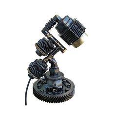 Vintage Light, Steampunk Lamp, Table Lamp, Edison Light, Steampunk art, Pipe Lamp, Bedside Lamp, Steampunk Lamp diy, Steampunk Lamp for sale