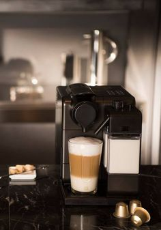 Start your Sunday morning brunch off the right way, with a delicious, creamy latte from Nespresso. With a simple touch of a button, your modern coffee machine will produce a fabulous drink recipe for you to savor.