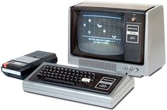 Chris's first computer - the Radio Shack TRS-80