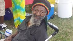 Papa Jack at the 6th Annual RasTafari Family Day