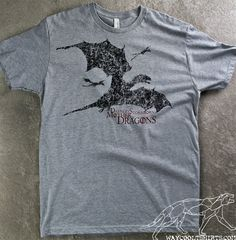 Game of Thrones Shirt DAENERYS STORMBORN DRAGONS by waycooltshirts