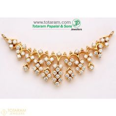 Totaram Jewelers Online Indian Gold Jewelry store to buy Gold Jewellery and Diamond Jewelry. Buy Indian Gold Jewellery like Gold Chains, Gold Pendants, Gold Rings, Gold bangles, Gold Kada Indian Gold Jewellery Design, Gold Jewelry, Jewelry Design, Indian Jewelry, Bridal Jewelry, Beaded Jewelry, Gold Earrings Designs, Necklace Designs, Ring Designs