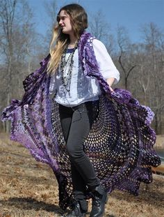 Looking for crocheting project inspiration? Check out Crochet Bohemian Vest  by…