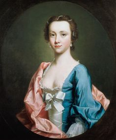 Allan Ramsay (1713-1784) - Portrait of a Lady. Oil on Canvas. Circa 1740-1745…