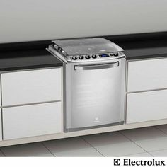 Fogão de Embutir Electrolux 4 Bocas a Gás com Timer Digital e Acendimento Automático Inox - 56ERX - R$ 1.606,94 (16/01/2014)