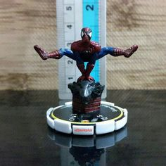 Jual beli Miniatur Spiderman 067 Rookie Critical Mass Marvel Heroclix WizKids RARE di Lapak idStoreplus - idstoreplus. Menjual Static Figure - PAJANGAN UNIK KOLEKSI MAINAN MINI FIGURE Miniatur Spiderman 067 Rookie Critical Mass Marvel Heroclix WizKids RARE