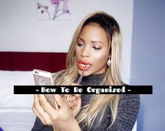 How To Be More Productive & Organised | Tips | LIFE  ♡ #lifestyle #youtubevideo